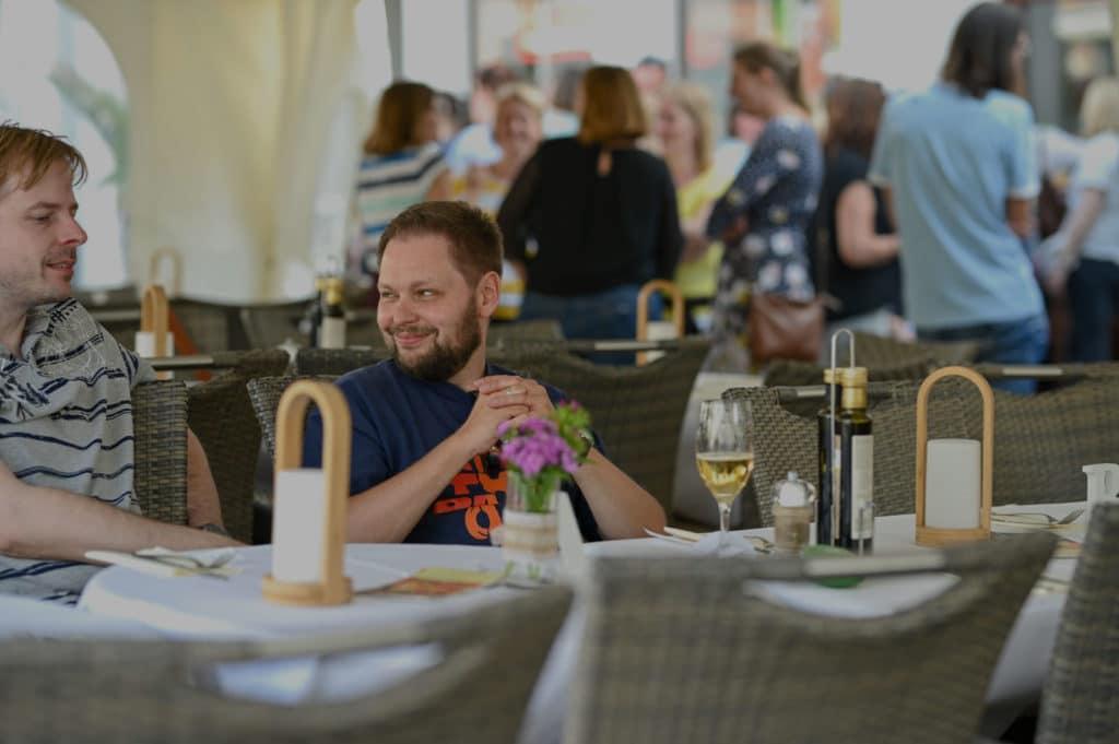 Veranstaltung im Restaurant La Piazza